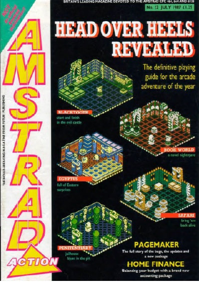 Amstrad Action July 1987