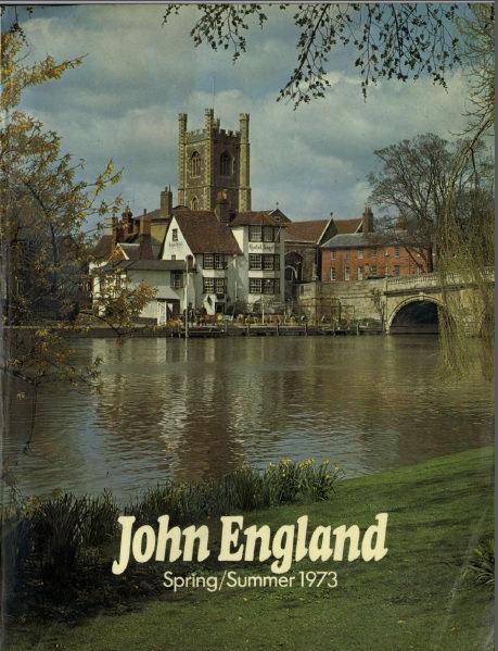 1973 John England Spring/Summer