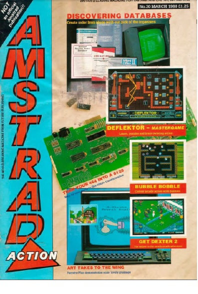 Amstrad Action March 1988