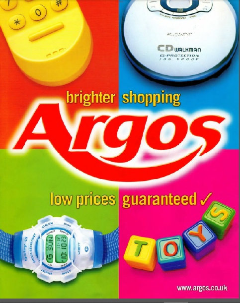 2000-2001 Argos Autumn/Winter