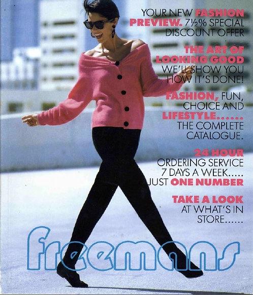 1989-1990 Freemans Autumn/Winter