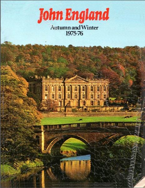 1975-1976 John England Autumn/Winter