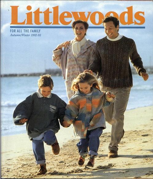 1992-1993 Littlewoods Autumn/Winter