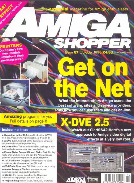 October 1996 Amiga Shopper