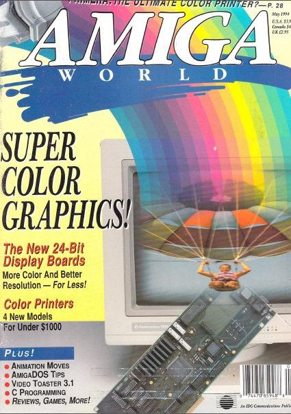 Amiga World May 1994