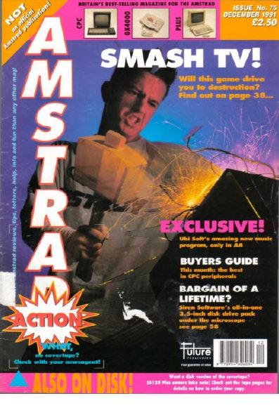 Amstrad Action Dec 1991