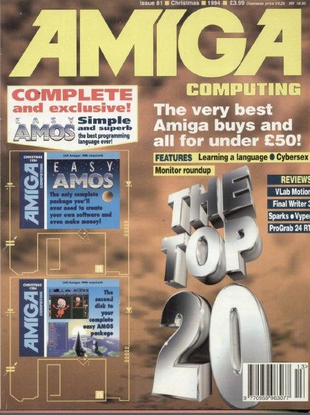 Amiga Computing Christmas 1994