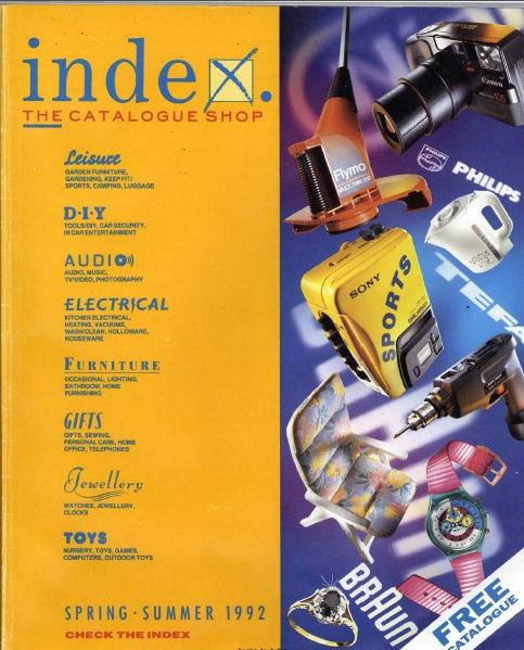 1992 Index Spring/Summer