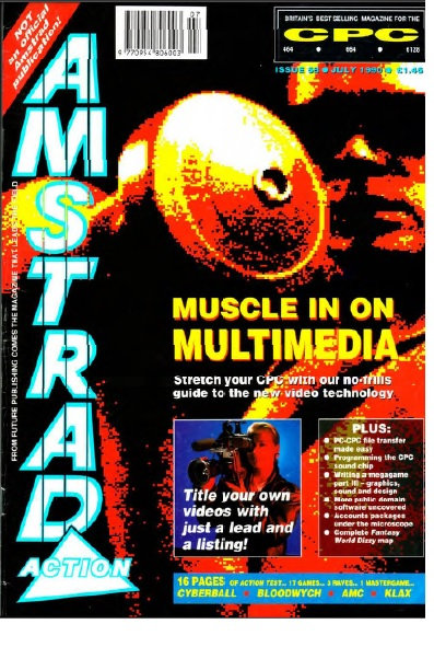 Amstrad Action July 1990