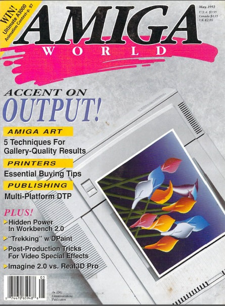 Amiga World May 1992