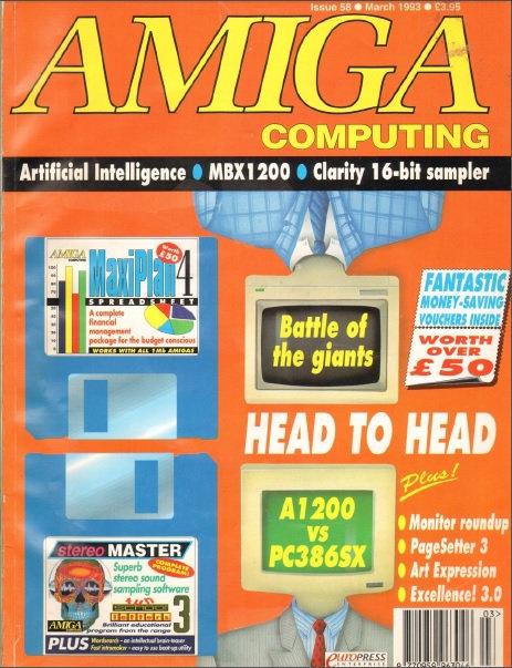 Amiga Computing Mar 1993