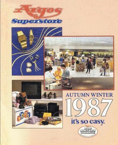 1987-1988 Argos Autumn/Winter