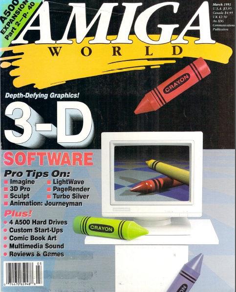 Amiga World Mar 1991
