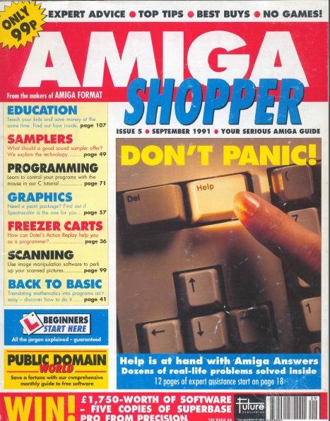 September 1991 Amiga Shopper