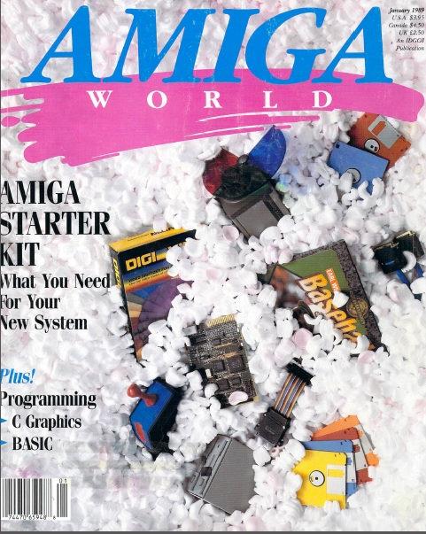 Amiga World Jan 1989