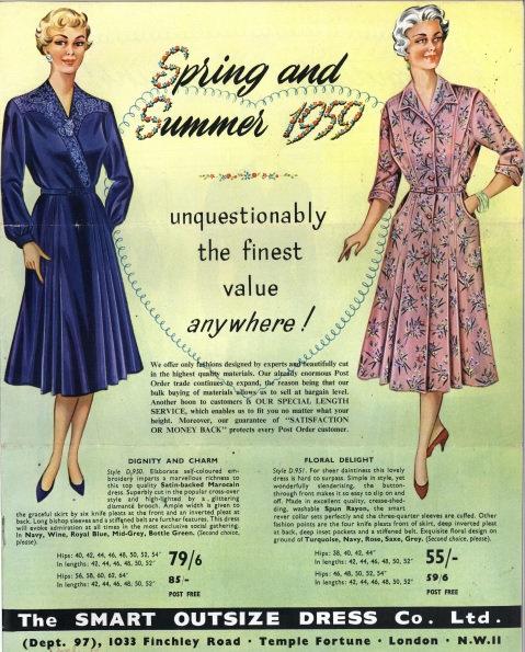 1959 Evans Spring/Summer 2