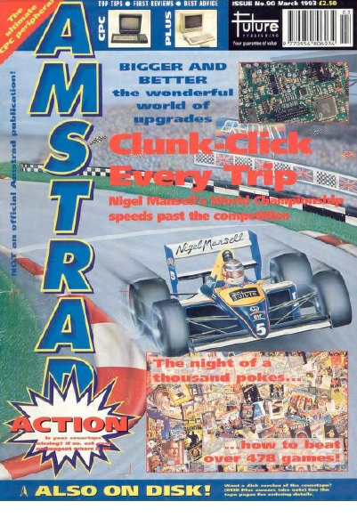 Amstrad Action March 1993