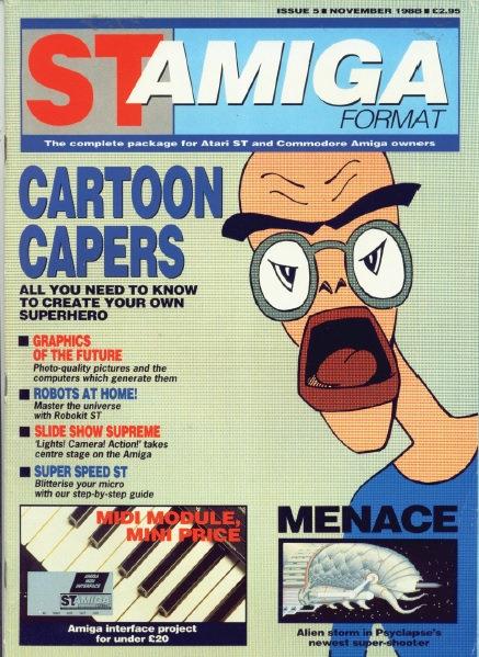 ST Amiga Format Nov 1988