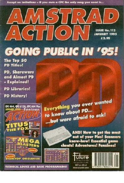 Amstrad Action Jan 1995