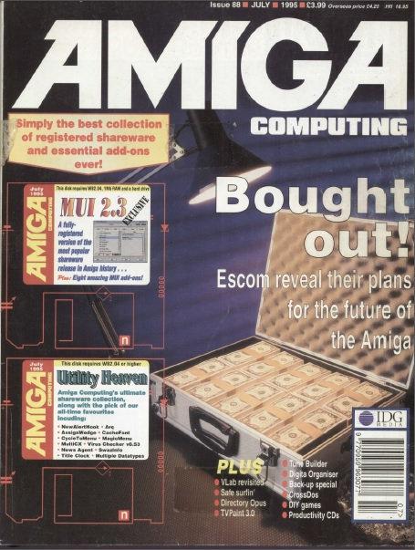 Amiga Computing July 1995