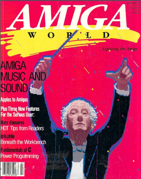 Amiga World July/Aug 1986