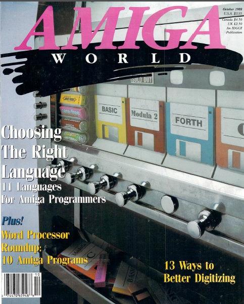 Amiga World Oct 1988