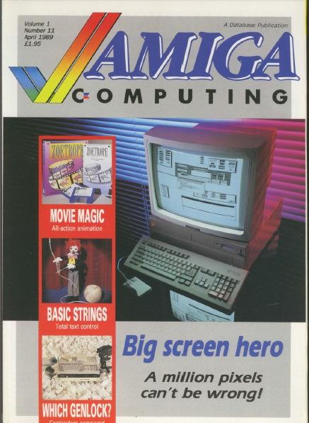 Amiga Computing April 1989