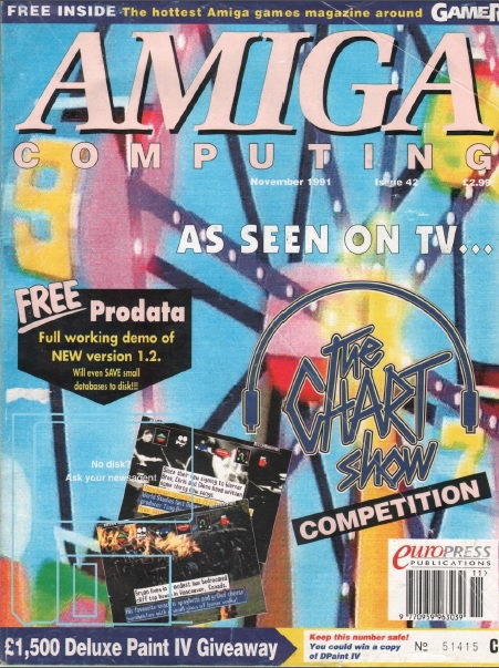 Amiga Computing Nov 1991