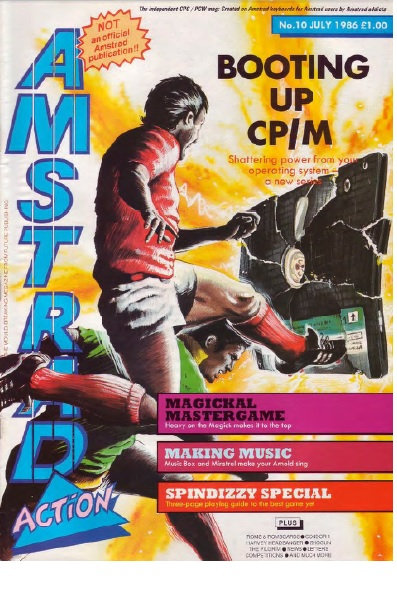 Amstrad Action July 1986