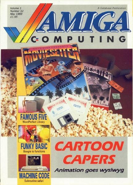 Amiga Computing May 1989