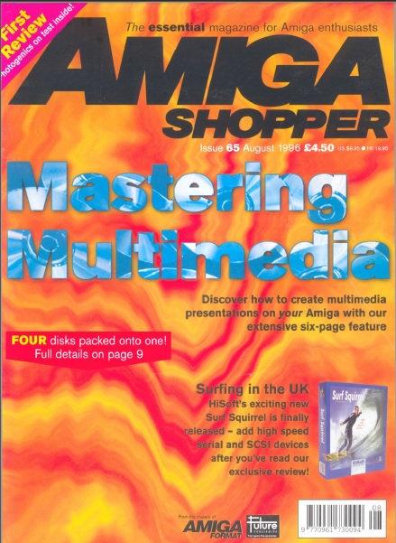 August 1996 Amiga Shopper