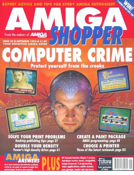 September 1993 Amiga Shopper
