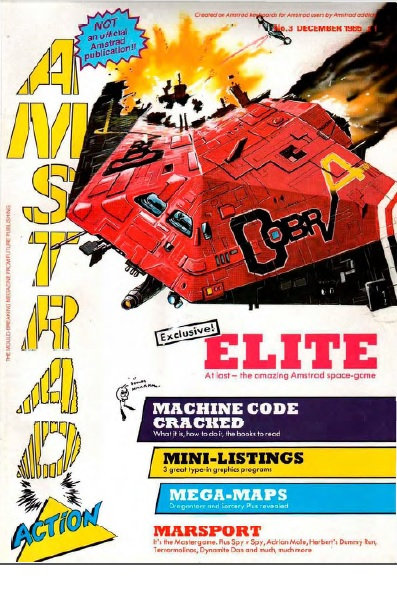 Amstrad Action Dec 1985