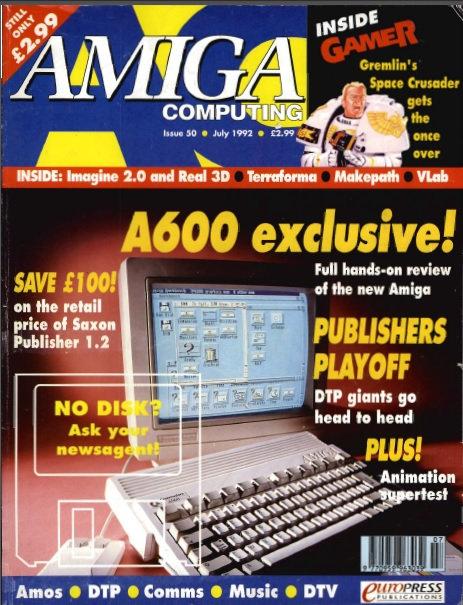 Amiga Computing July 1992