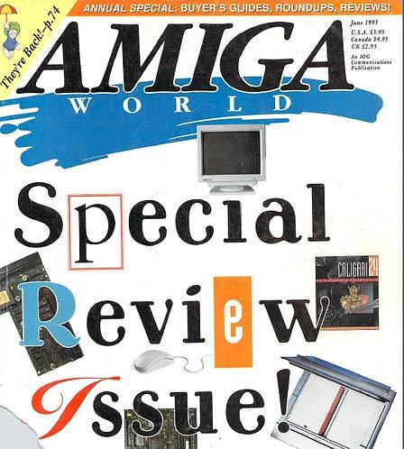 Amiga World June 1993