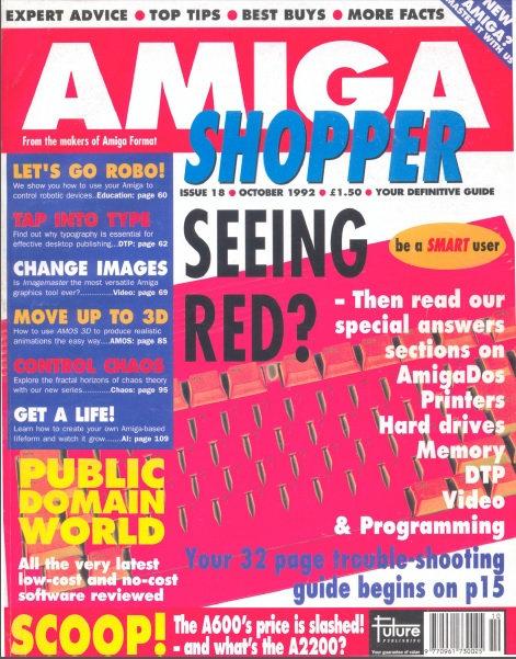 October 1992 Amiga Shopper