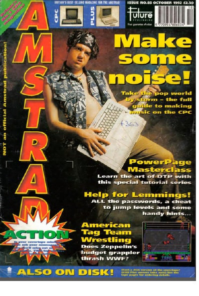 Amstrad Action Oct 1992