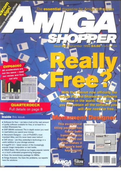 September 1996 Amiga Shopper