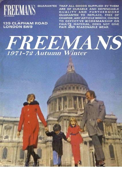 1971-1972 Freemans Autumn/Winter