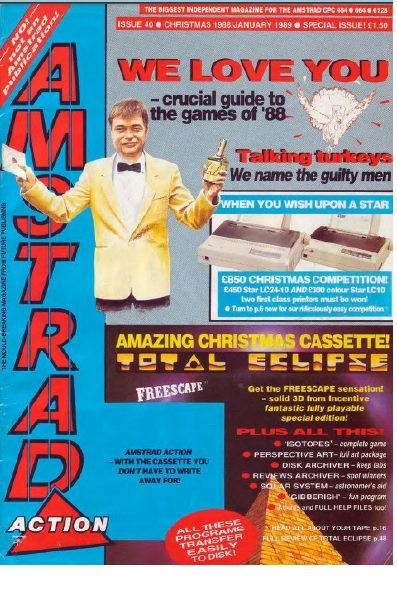Amstrad Action Christmas 1988 / Jan 1989