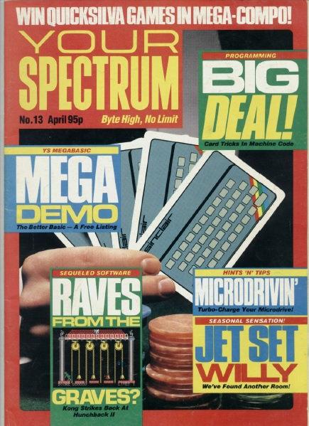Your Spectrum April 1985