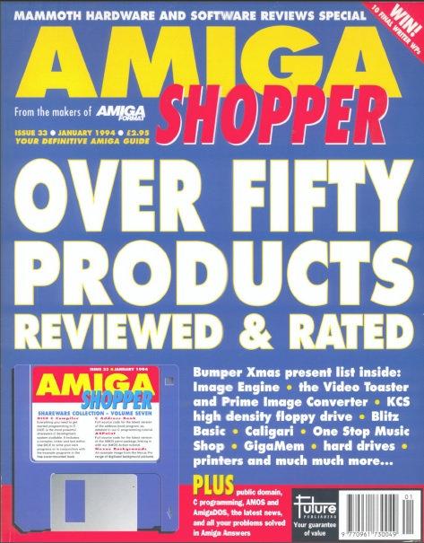 January 1994 Amiga Shopper