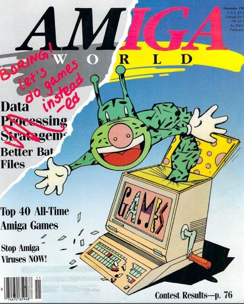 Amiga World Nov 1988