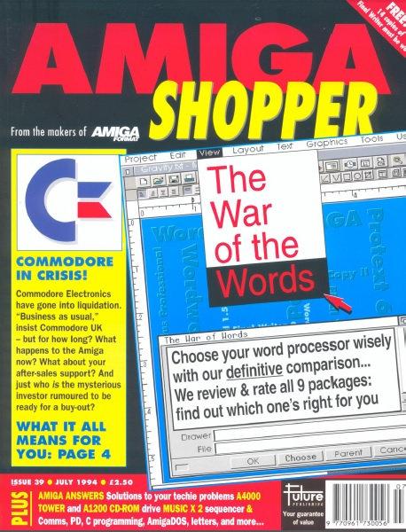 July 1994 Amiga Shopper