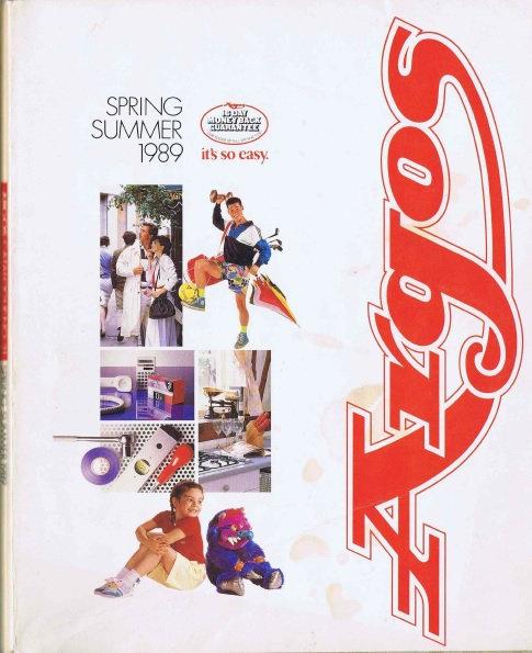 1989 Argos Spring/Summer