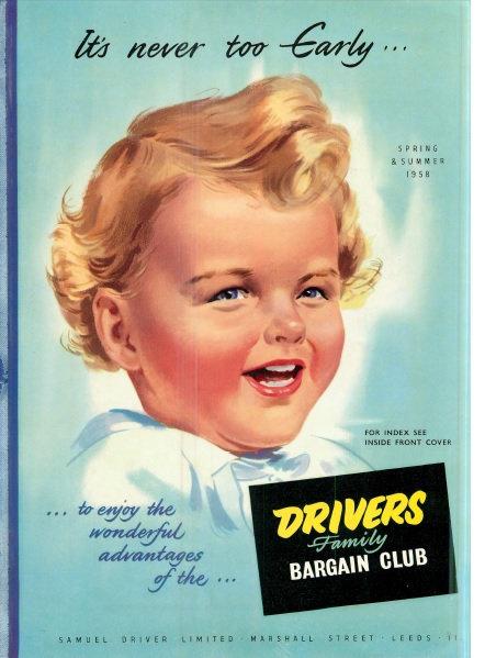 1958 Driver Family Bargain Club Spring/Summer