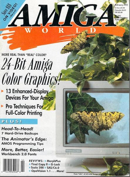 Amiga World Feb 1993