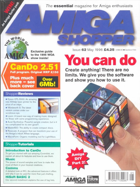 May 1996 Amiga Shopper