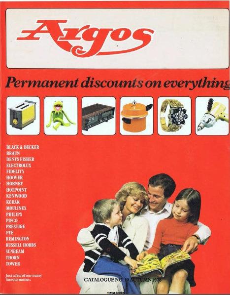 1978-1979 Argos Autumn/Winter