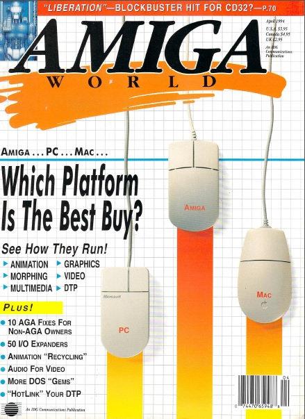 Amiga World April 1994